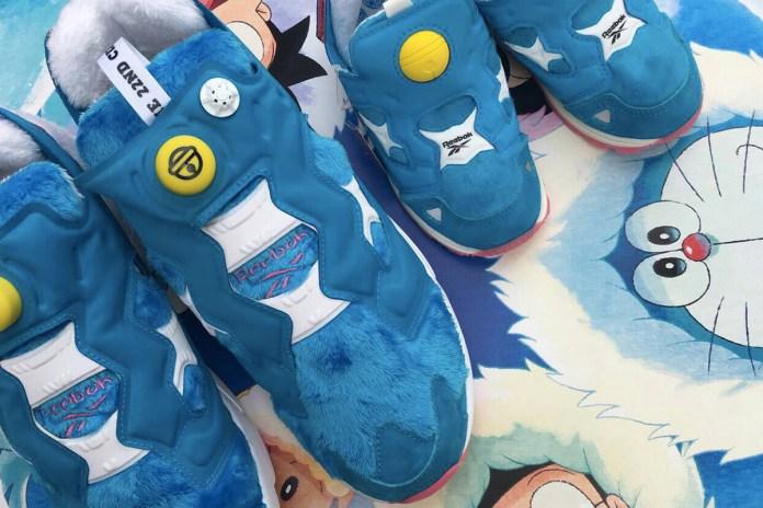 Doraemon x Packer Shoes x Reebok Insta Pump Fury 國寶級聯乘