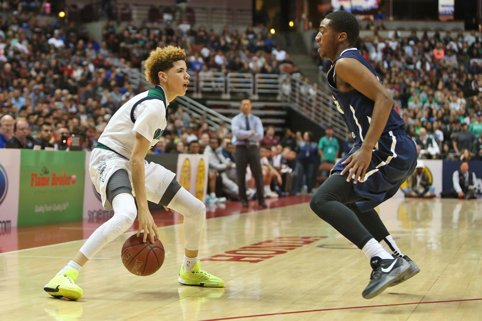 High School Basketball Games LaMelo Ball 92 Points ...