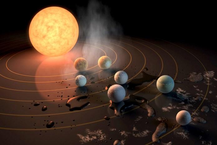 NASA 公佈再發現 7 個「類地球」星體圍繞矮恆星公轉