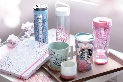 香港 Starbucks 推出全新櫻花杯款及 Teavana 茶具系列