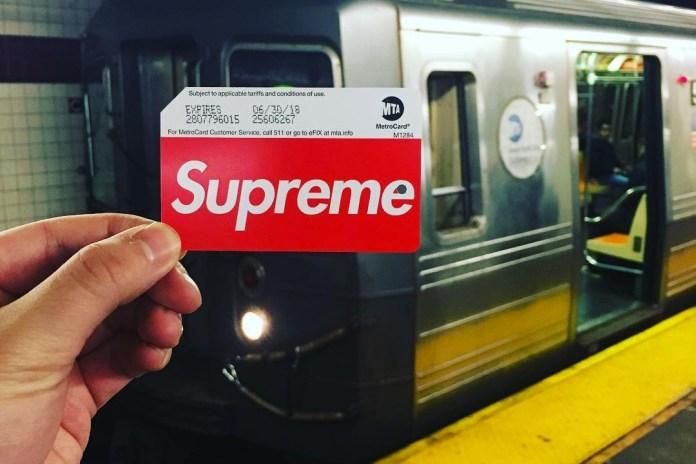 Supreme MetroCard 紐約地鐵站販售引發混亂