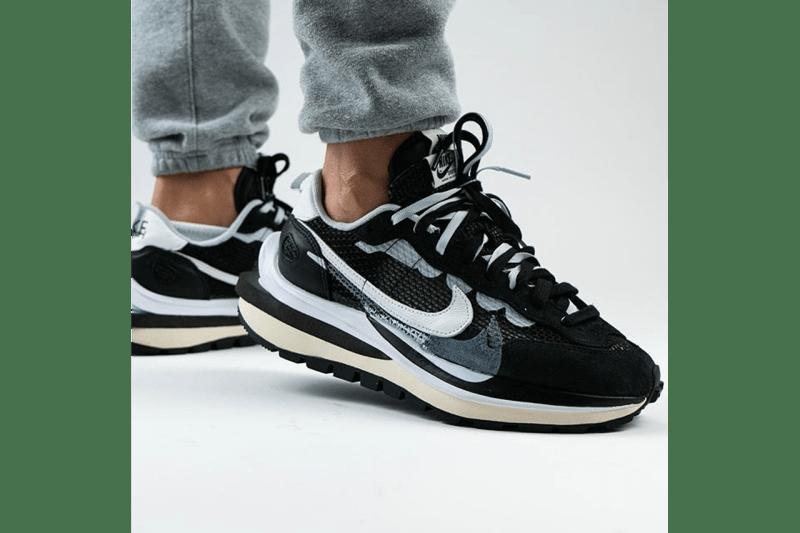 sacai x Nike Vaporwaffle 最新聯名鞋款上腳圖輯曝光