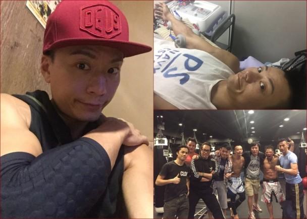 陳志健拍劇打MMA遭林子善撞裂手骨|即時新聞|東網巨星|on.cc東網