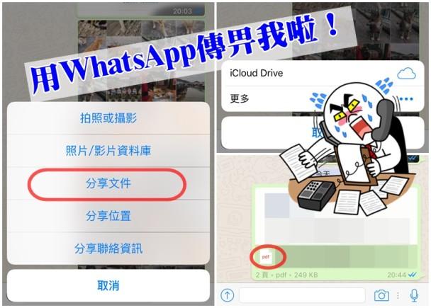 WhatsApp更新停不了 即日可傳PDF檔|即時新聞|港澳|on.cc東網