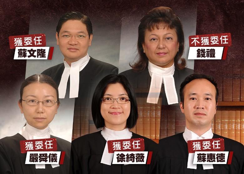 港區國安法:消息指有外籍裁判官不獲委任處理國安法案件|即時新聞|港澳|on.cc東網