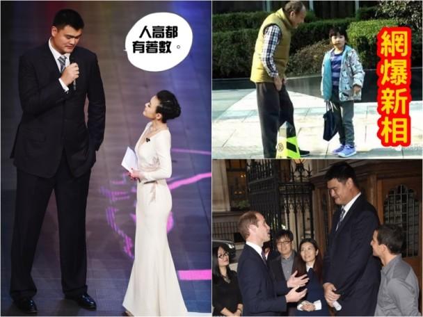 CBA 估下姚明6歲囡囡有幾高|即時新聞|體育|on.cc東網