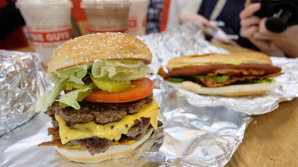 【灣仔美食】漢堡店Five Guys香港開業 地址+開業日期+餐牌定價公佈   港生活 - 尋找香港好去處
