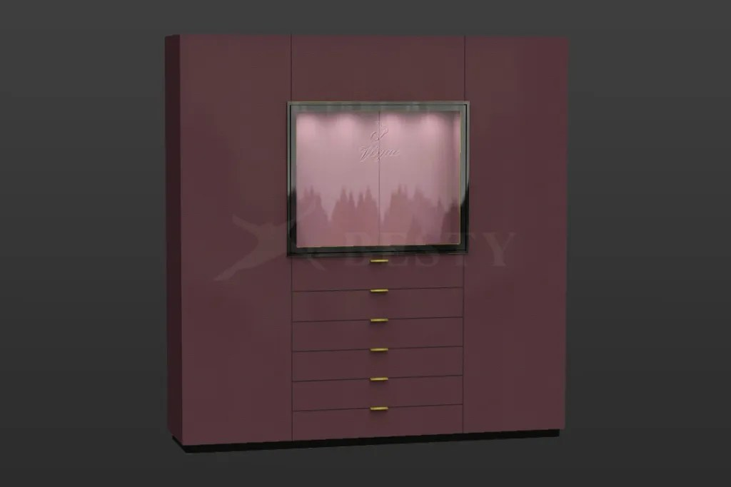Crantini Color Wall Display Cabinet | Besty Display
