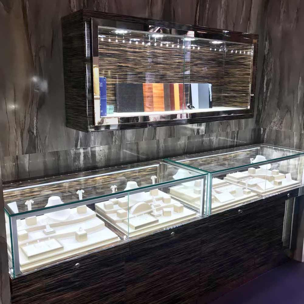 Serious of LX-05 & LX-06 Wall Display Showcase Glass | Besty Display
