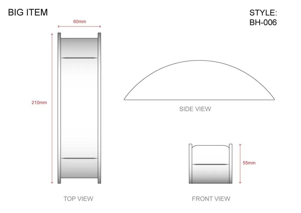 BH-006 Big Item Technical File Measurement   Besty Display