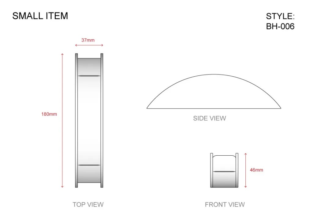 BH-006 Small Item Technical File Measurement   Besty Display