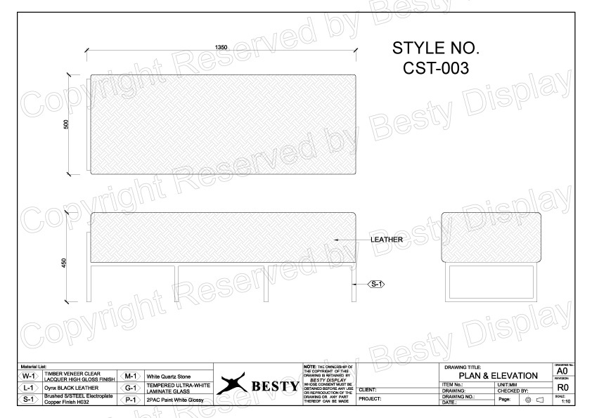 CST-003 Technical File Measurement   Besty Display