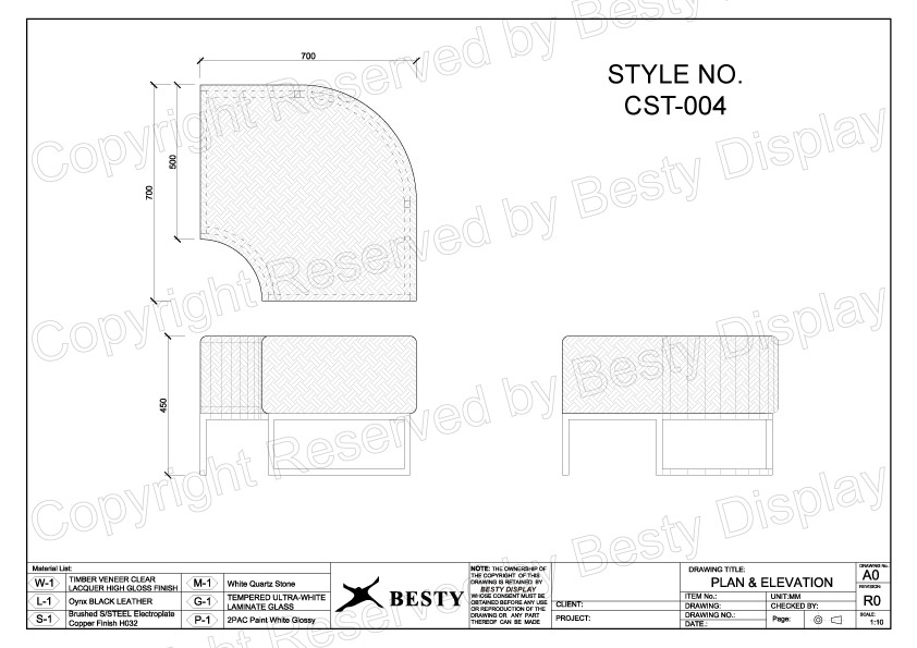 CST-004 Technical File Measurement   Besty Display