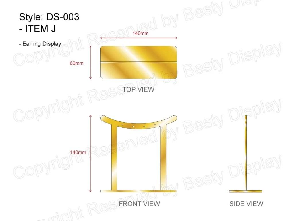 DS-003 Item J Technical File Measurement   Besty Display
