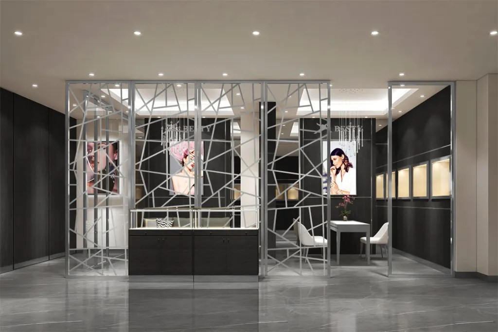 MPW-05 Metal Partition Wall   Besty Display
