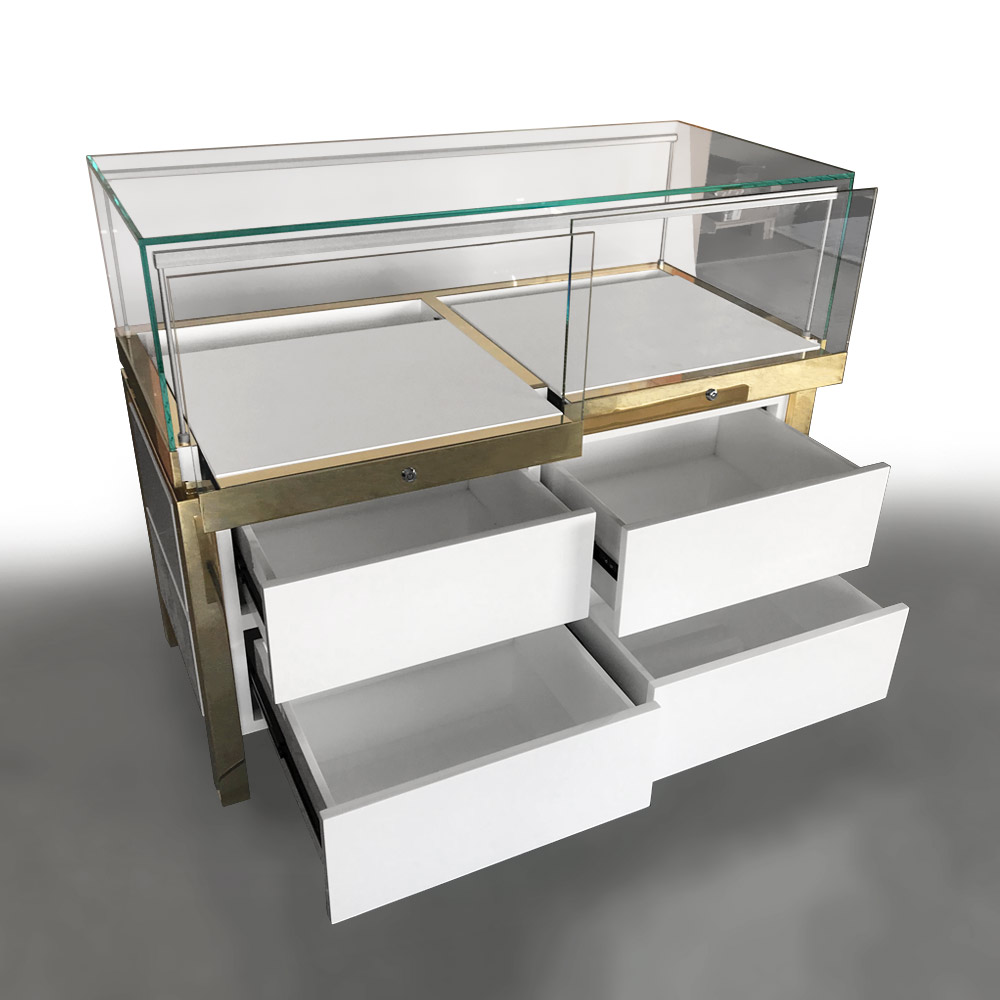 MT-10 Counter Display for Jewelry with Drawers   Besty Display