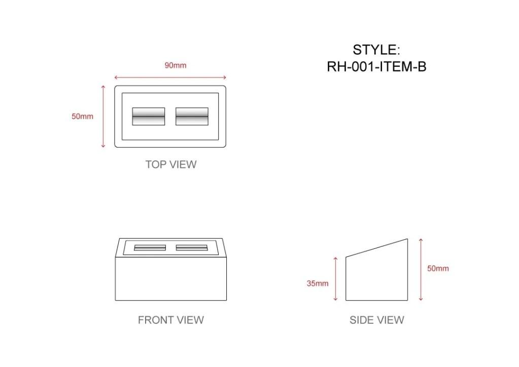 RH-001 Item B Technical File Measurement   Besty Display