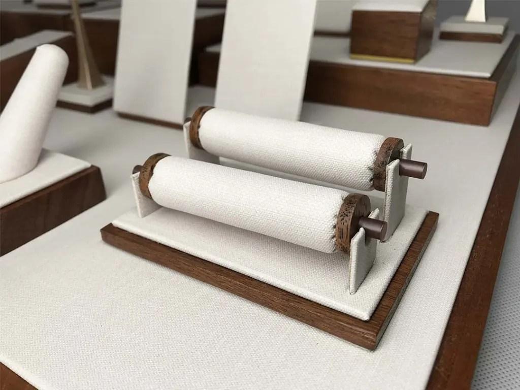 TR-0015 Jewelry Tray Custom Sets Ring Holder Roll | Besty Display