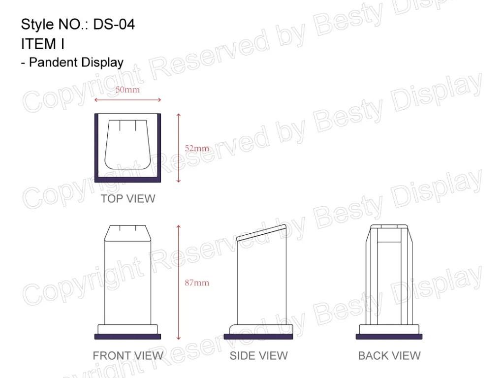 DS-004 Item I Measurement | Besty Display
