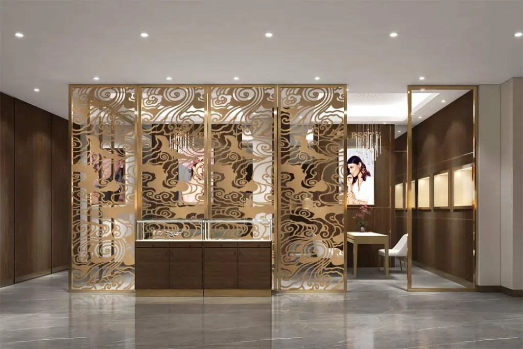 MPW-22 Metal Partition Wall | Besty Display