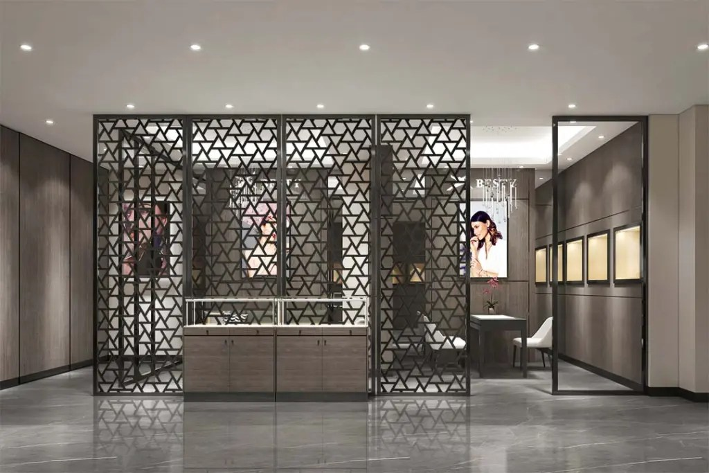 MPW-23 Metal Partition Wall   Besty Display