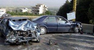 بلعما: اصابة 5 مواطنين في حادث سير