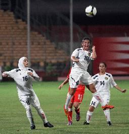 (النسوي الأردني) يزهو بلقب بطولة كأس العرب