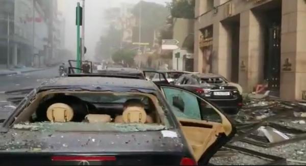 ارتفاع حصيلة ضحايا انفجار بيروت إلى أكثر من 100 قتيل