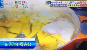 ハーバード式野菜スープ 作り方 画像