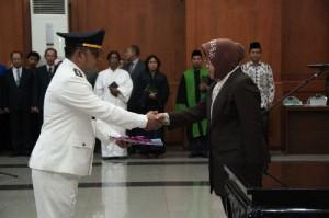 Walikota Tri Rismaharini Lantik Pejabat Struktural