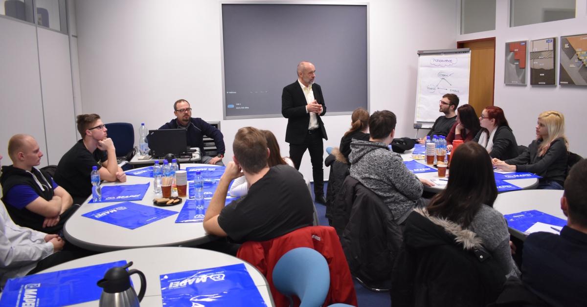 Okresní hospodářská komora Olomouc uspořádala 2. ročník Akademie MAPEI