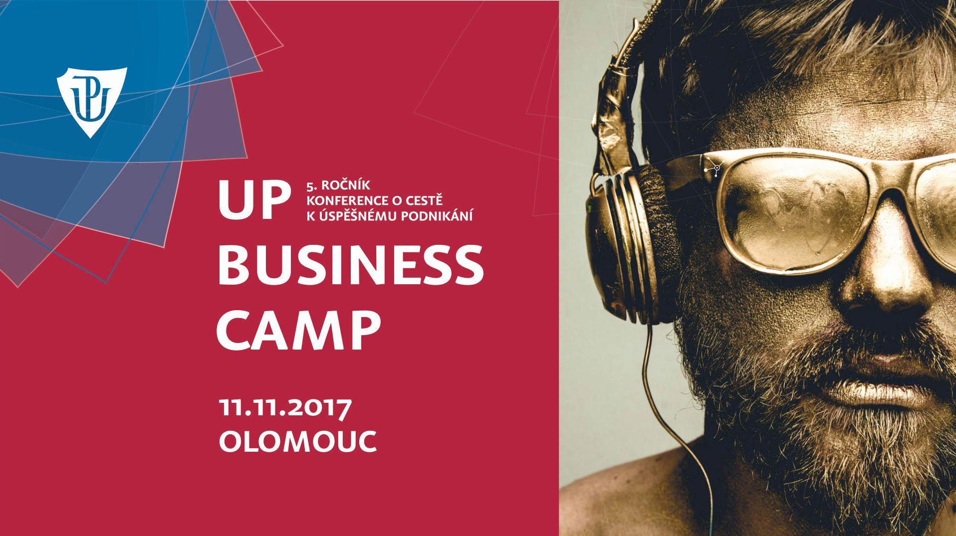Do Olomouce dorazí úspěšní podnikatelé, přijedou na univerzitní konferenci o podnikání UP Business Camp