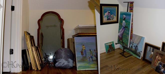Organizing a Painting Studio