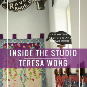 In the Studio with Teresa Wong
