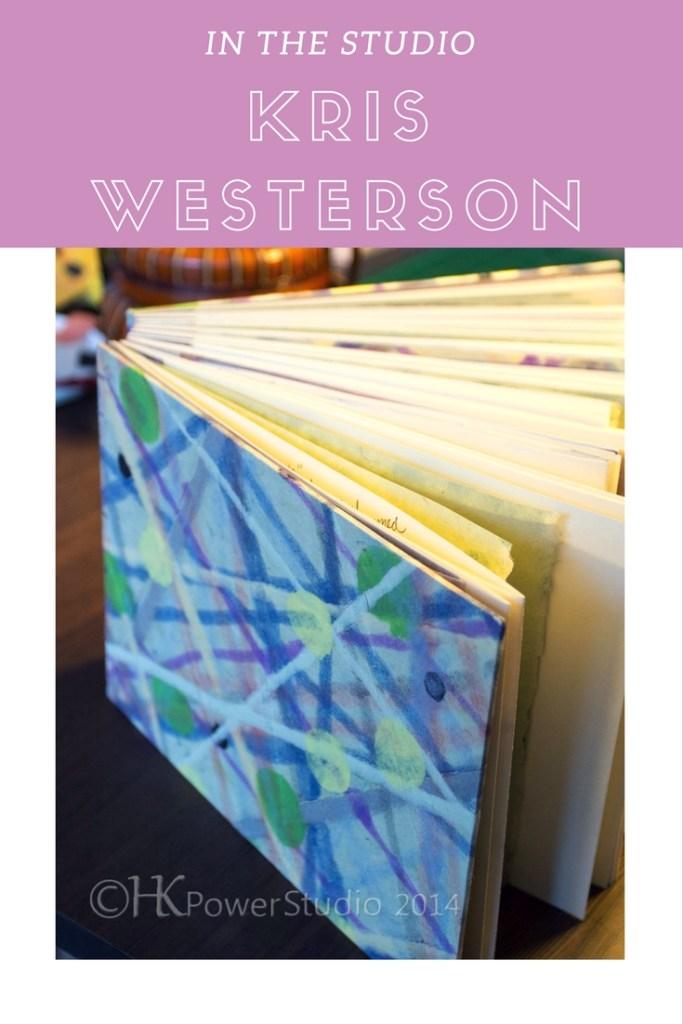 Kris Westerson Handmade books