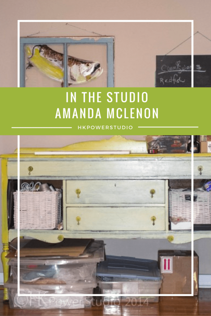 Inside the Studio of Amanda McLenon