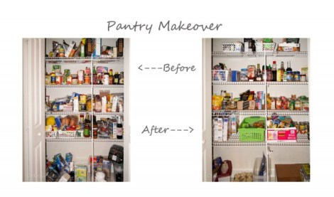 Bathroom, Laundry and Pantry Makeovers