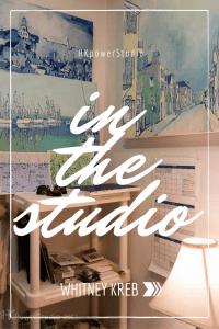 Whitney Kreb Artist Studio