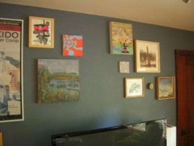 Art Inspiration Wall