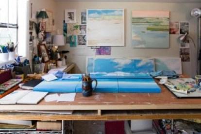Karin Olah's studio