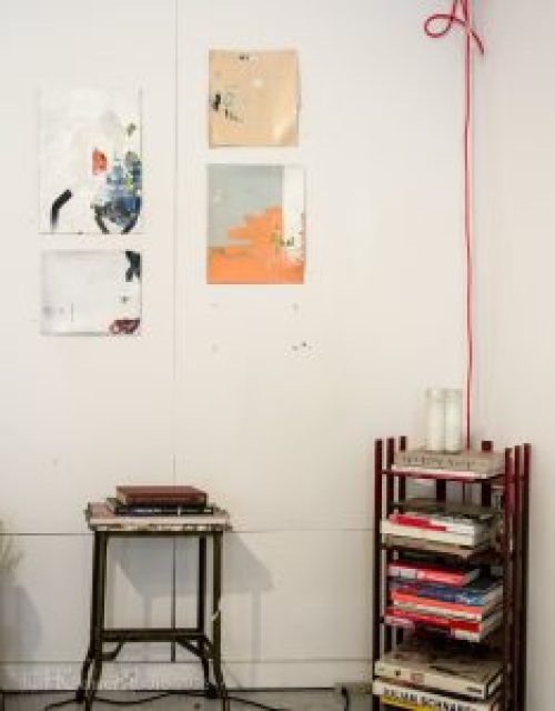 Tim Hussey Art Studio Organization