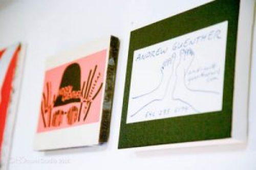 Andrew Guenther Art Studio Organization