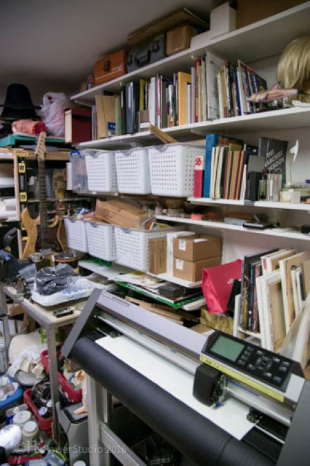 Andrew Guenther Art Studio Organization
