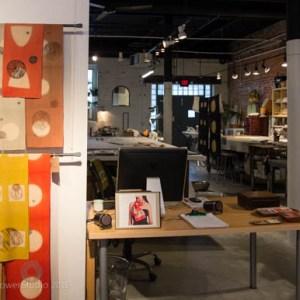 Barbara Zaretsky's Organized Art Space