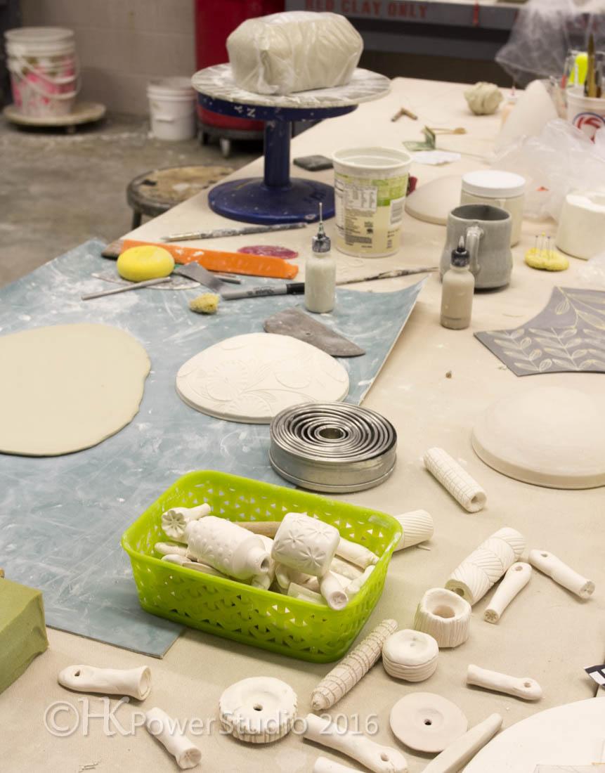 how artist organize