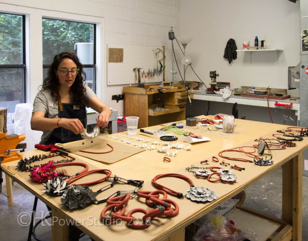 Maia Lepo's Arrowmont Studio