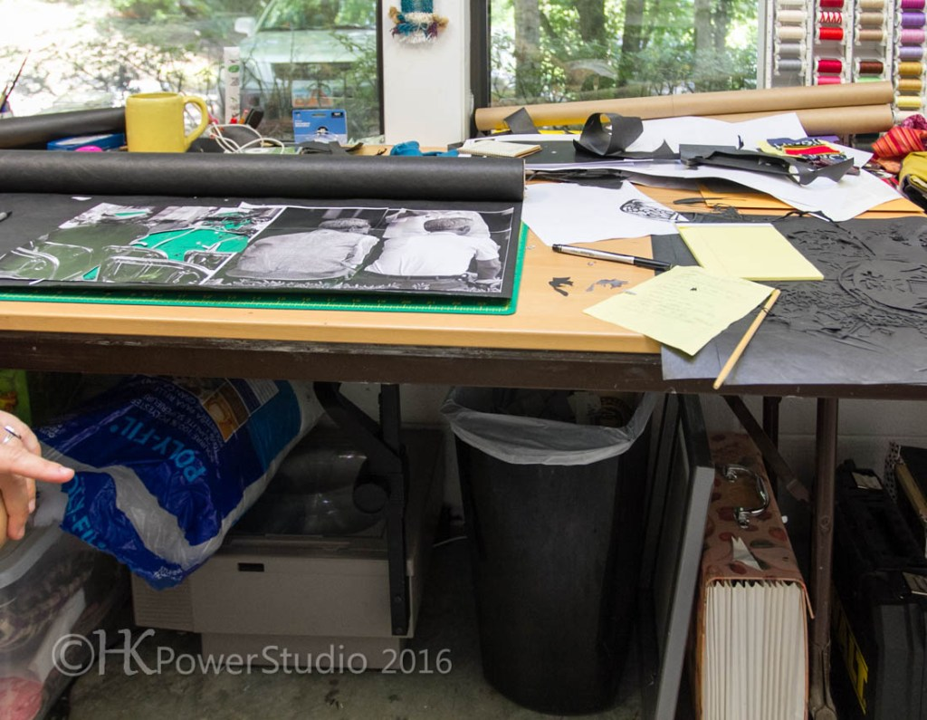 Emily Schubert's Organized Studio