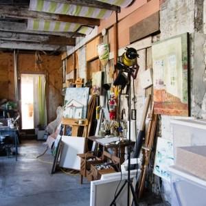 In the Studio with Lese Corrigan