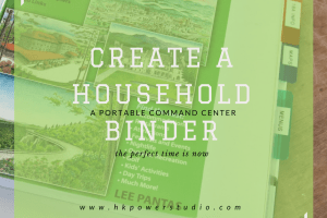 A Household Binder can be a portable command center