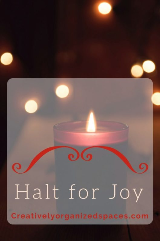 Halt for Joy